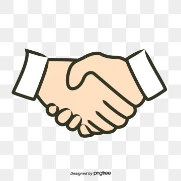 Shaking hands png vector. Handshake clipart handshaking