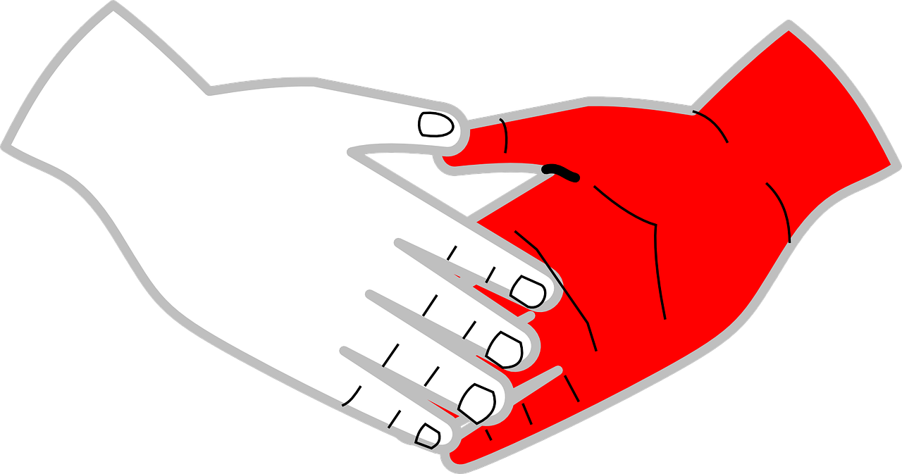 Clip art jabat tangan. Handshake clipart heart