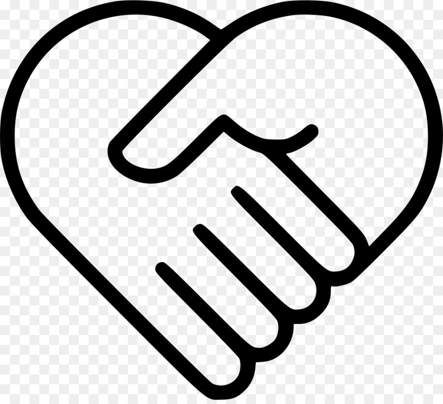 Hand text font transparent. Handshake clipart heart