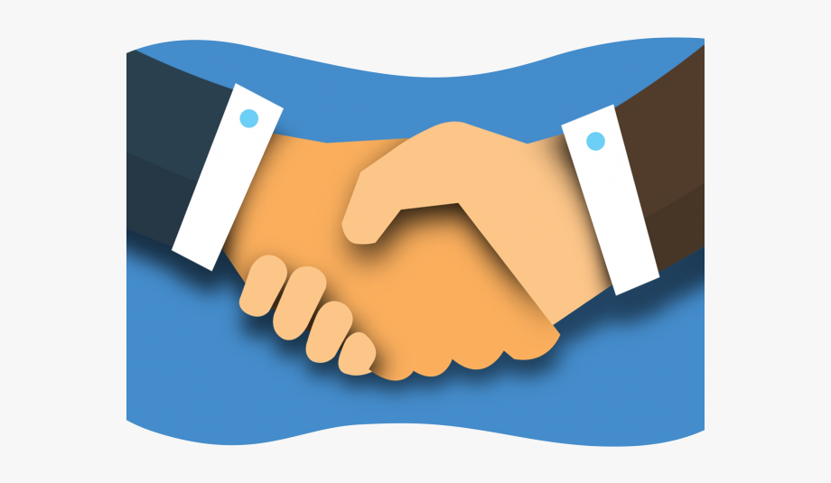 Professional . Handshake clipart introduction