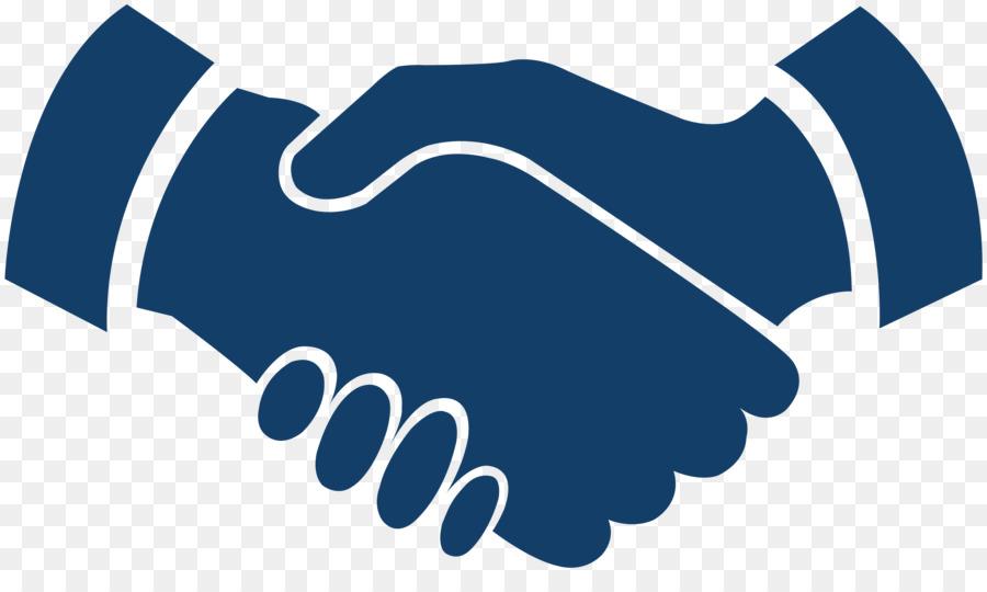 Logo hand transparent clip. Handshake clipart joint venture