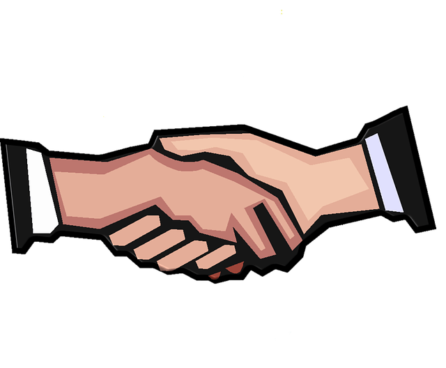 Handshake clipart joint venture. Aquacomms teams up with