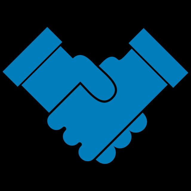 Handshake clipart joint venture. Orion energy description got