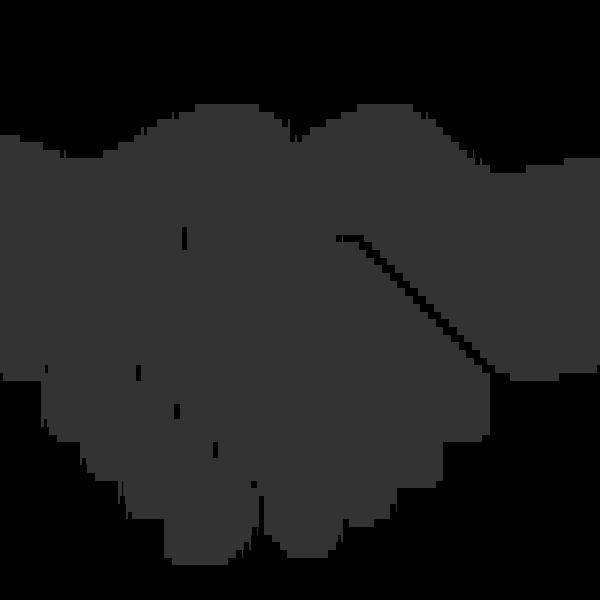 handshake clipart logo