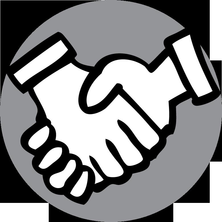 icarol messaging tools. Handshake clipart micro finance
