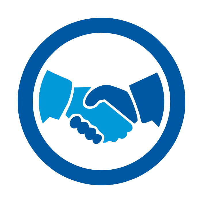 Microfinance loans products services. Handshake clipart micro finance