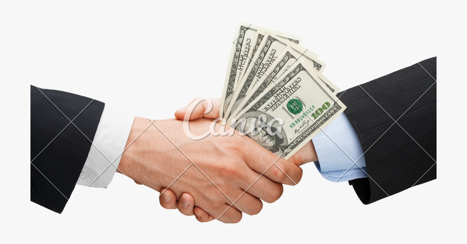 Shaking hands image cliparts. Handshake clipart money