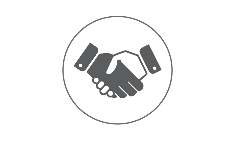 Center for strategic defense. Handshake clipart mutual agreement