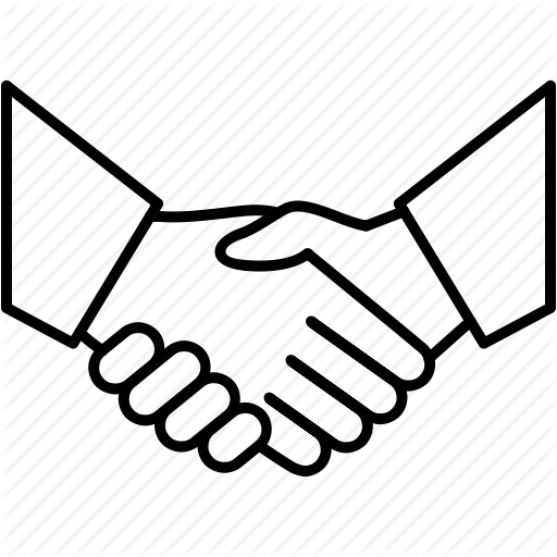Business background hand . Handshake clipart new deal
