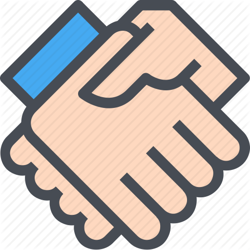 Handshake clipart new deal.  corporate management by