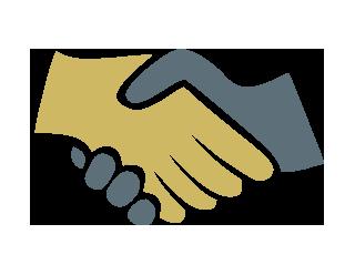 Handshake clipart principled. Create partnerships healey education