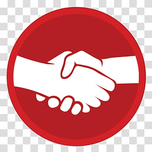 Welcome transparent background png. Handshake clipart red