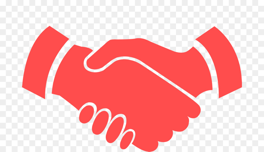 Handshake clipart red. Business background company