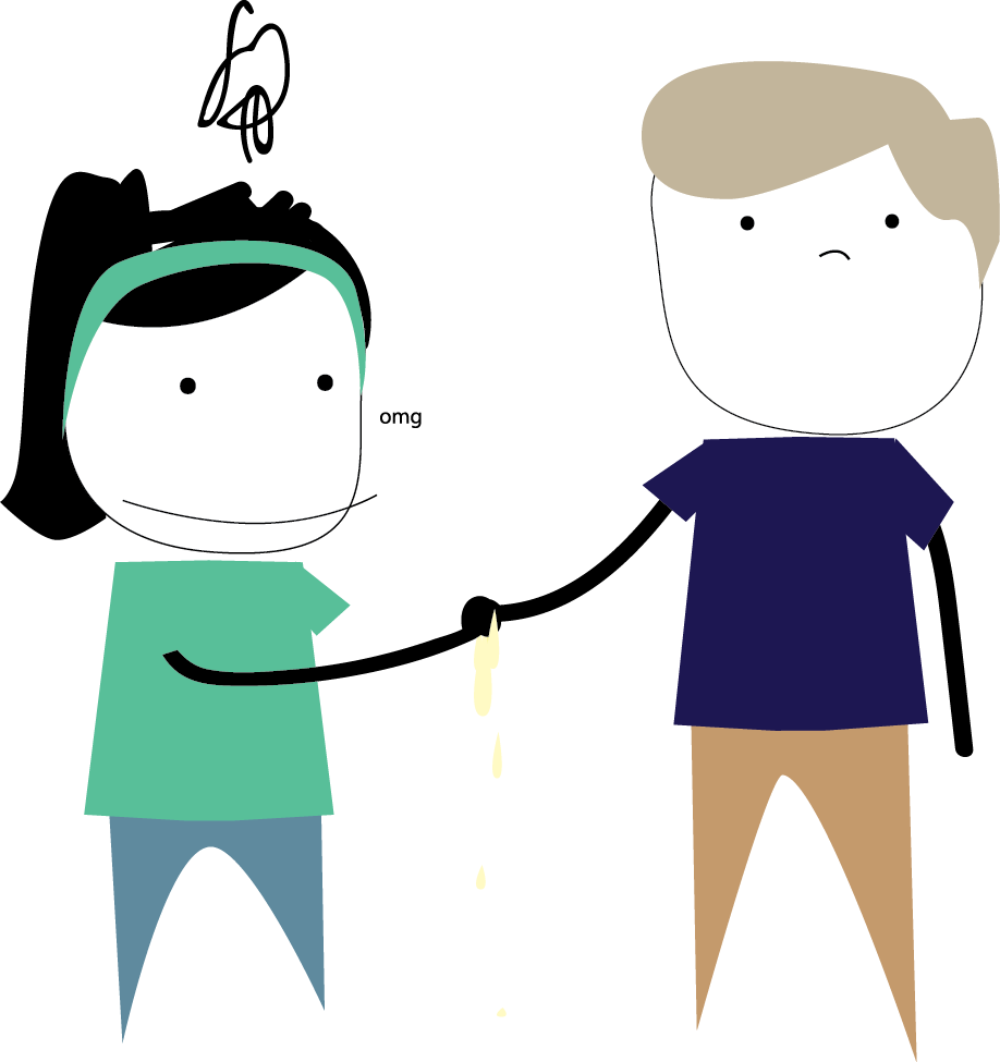 How your represents you. Handshake clipart respect