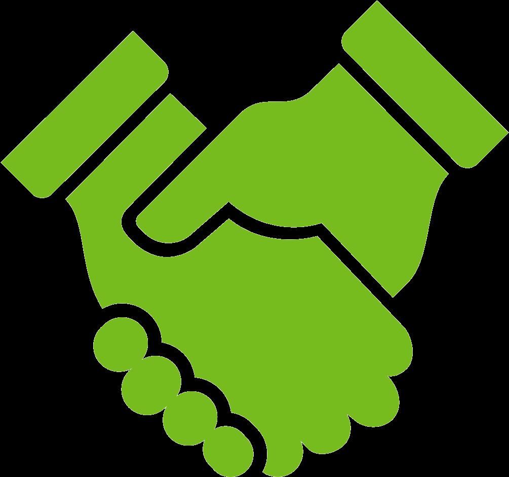 Shaking hands icon representing. Handshake clipart respect