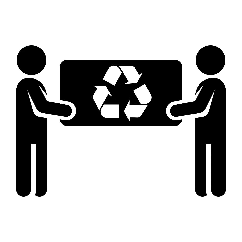 Mattress removal recycle harvey. Handshake clipart retro