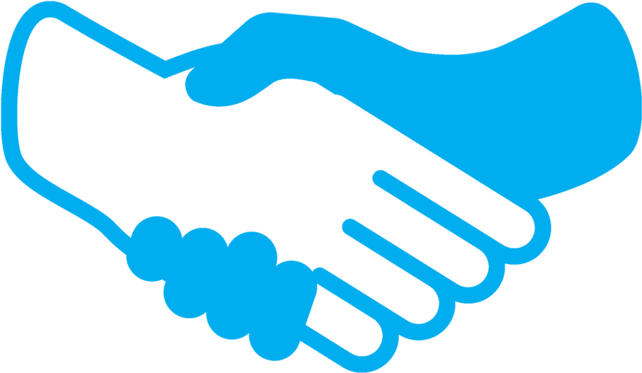 Handshake clipart solution. Perfect web website icon