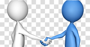 Animation family transparent . Handshake clipart stick figure