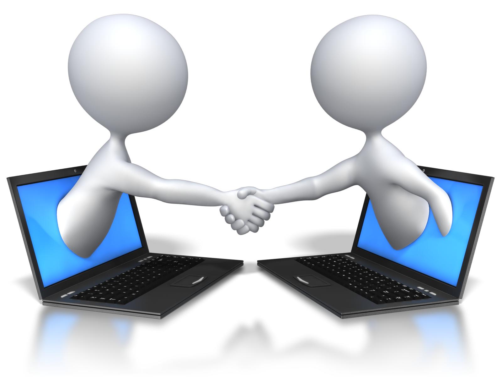 tips to make. Handshake clipart stick figure