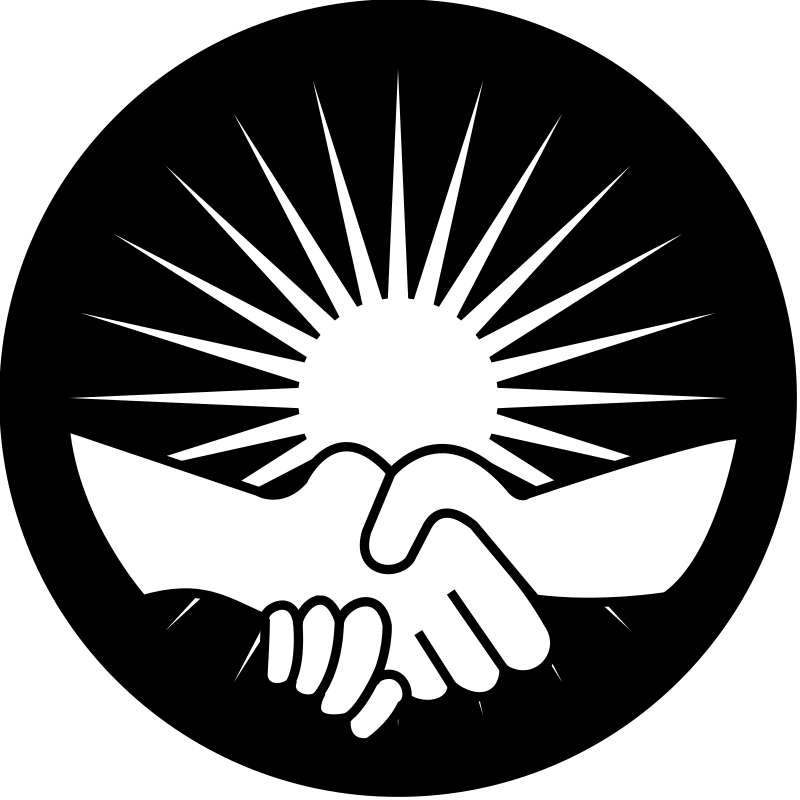 Medium image png . Handshake clipart support