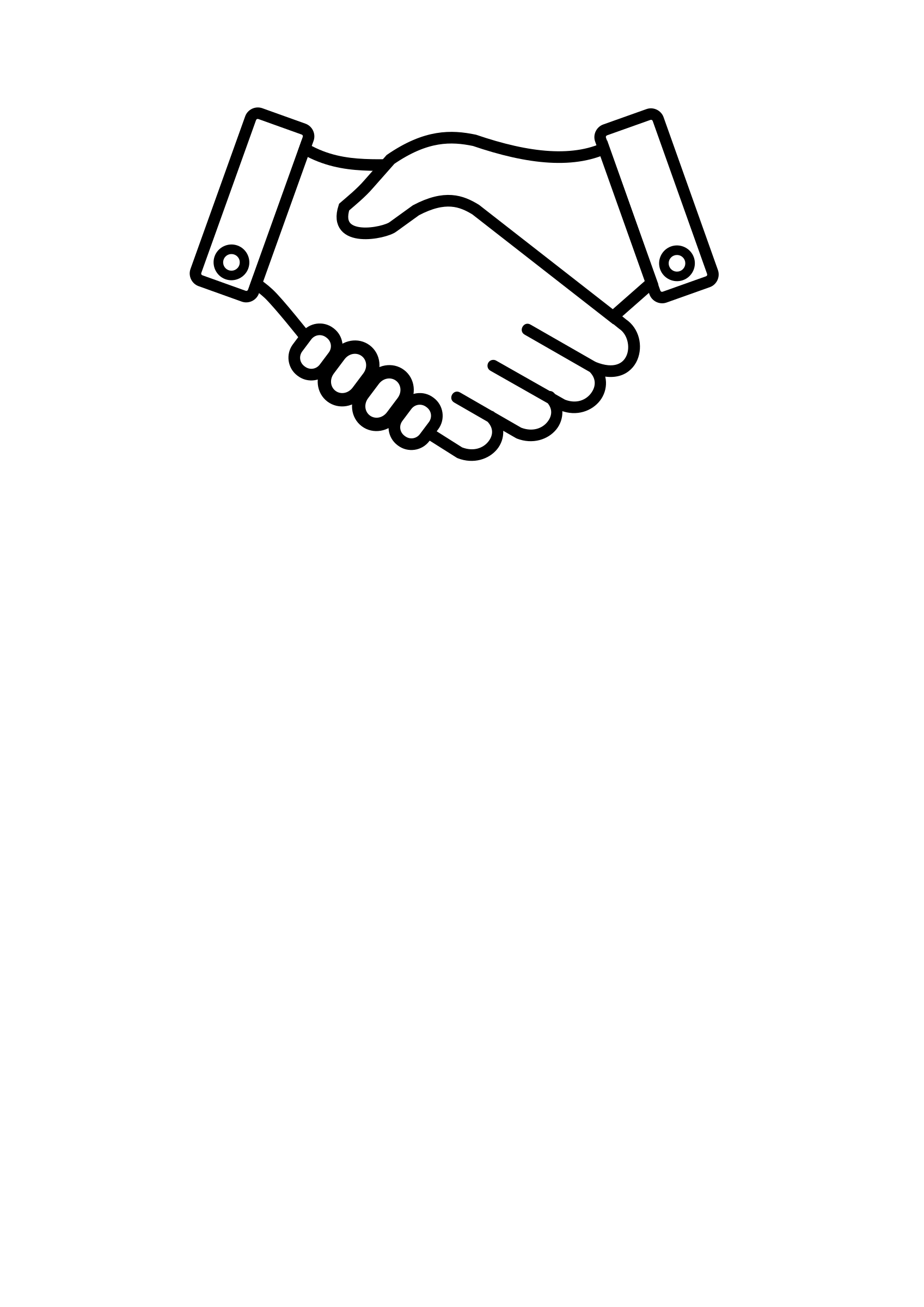 Handshake clipart support. Icons png free and