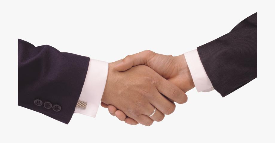 Handshake clipart support. Hands shaking no background