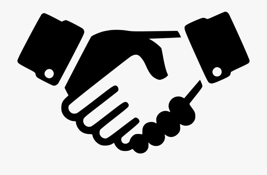 Handshake clipart svg. Png icon transparent
