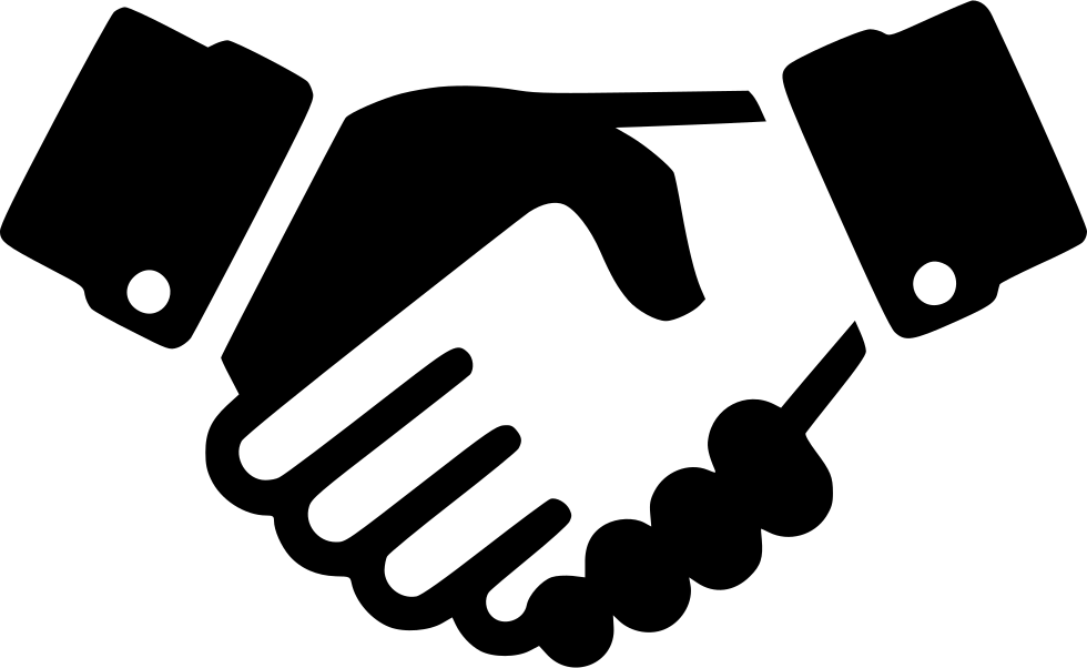 Handshake clipart svg. Png icon free download