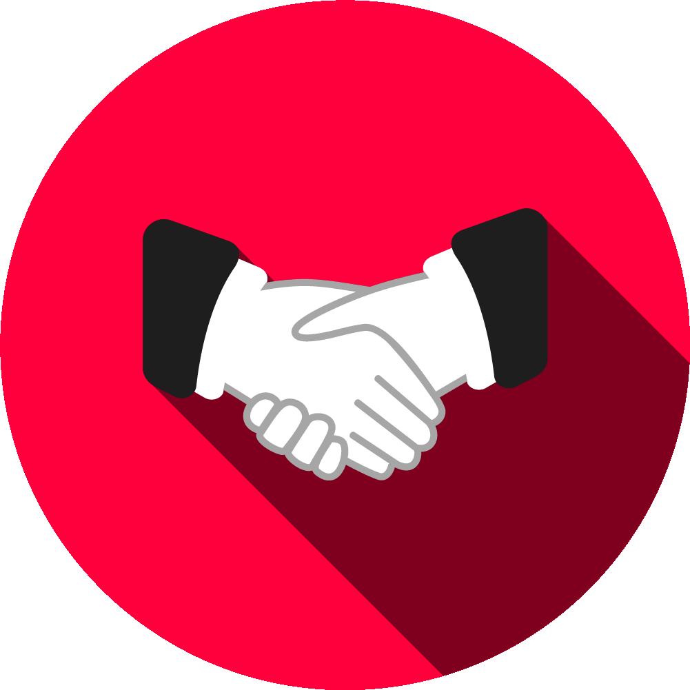 Handshake clipart table. Membership wfa mix with