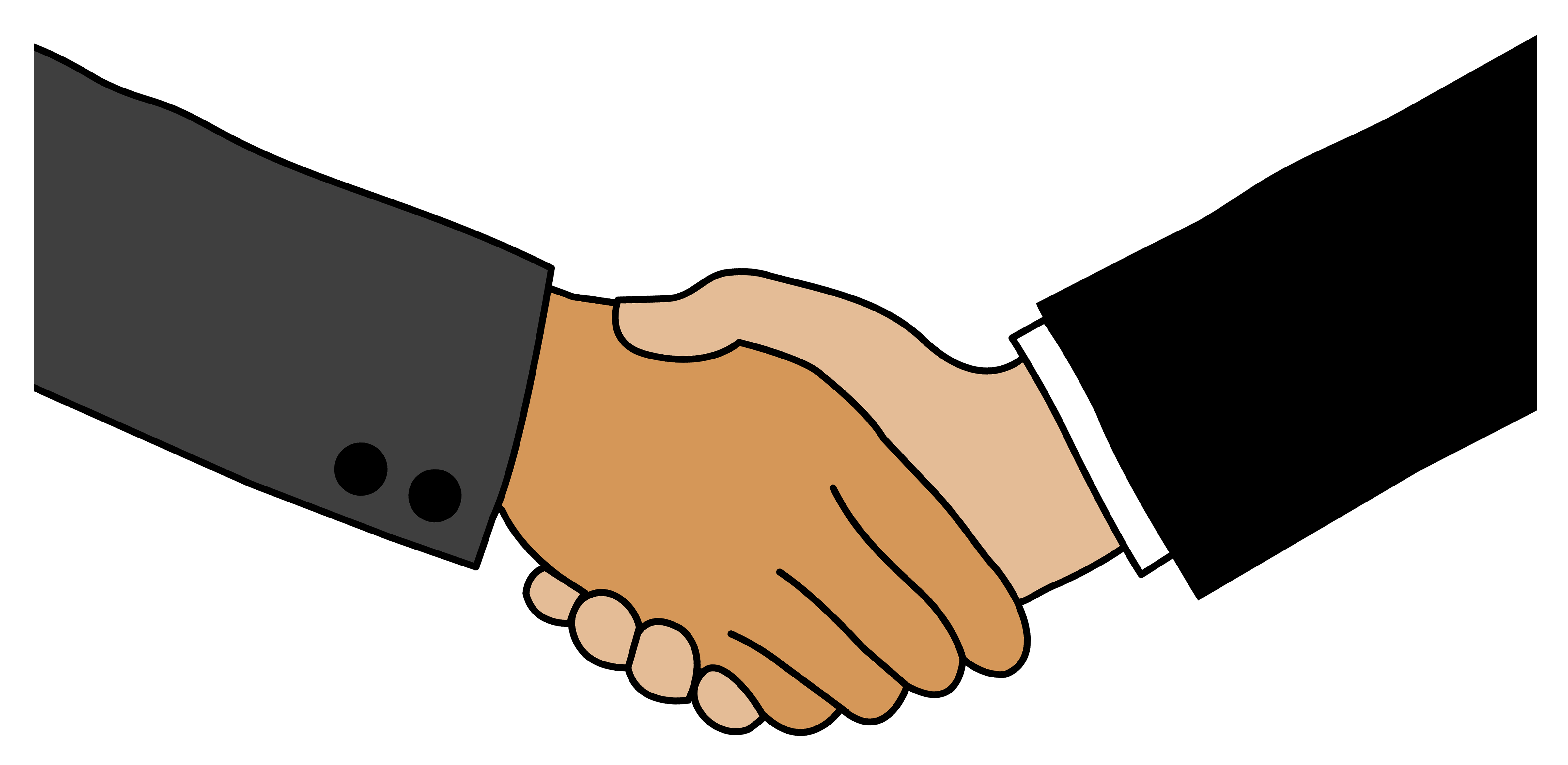 Handshake clipart trade. August usrevolution agreementclipartbusinesshandshake
