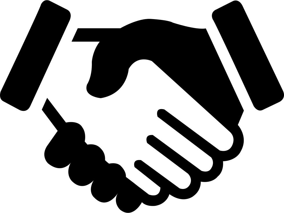 Handshake clipart trade. Shake hands x svg