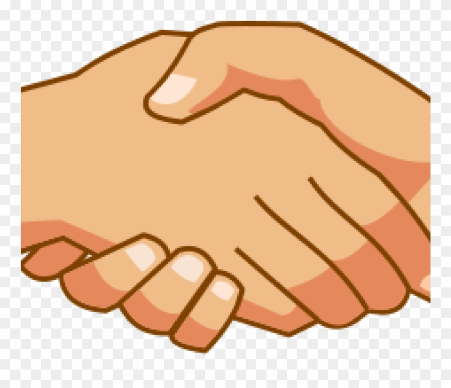 Free banner black and. Handshake clipart truce