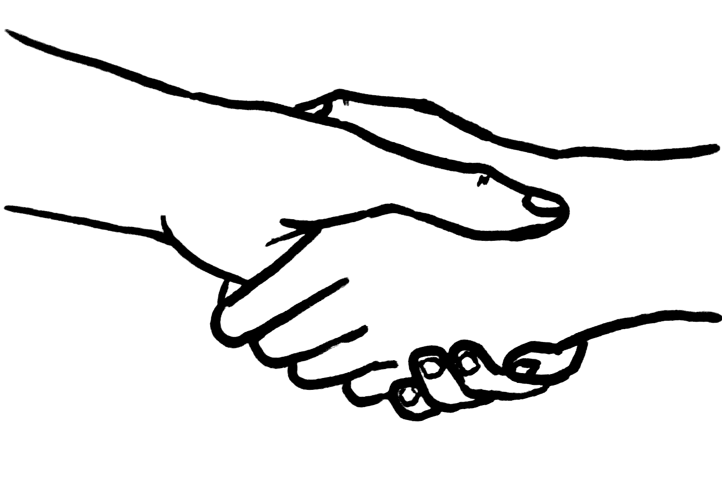 Free picture of hands. Handshake clipart two hand