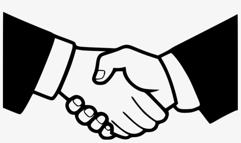 Cartoon shaking hands clip. Handshake clipart two hand