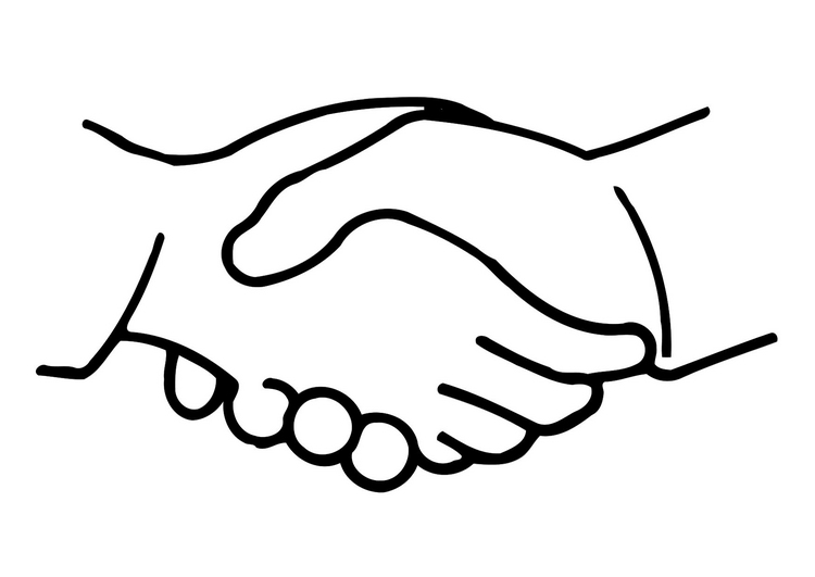 Handshake clipart two hand. Free shaking hands cliparts