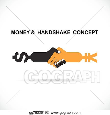 Clip art vector business. Handshake clipart unity