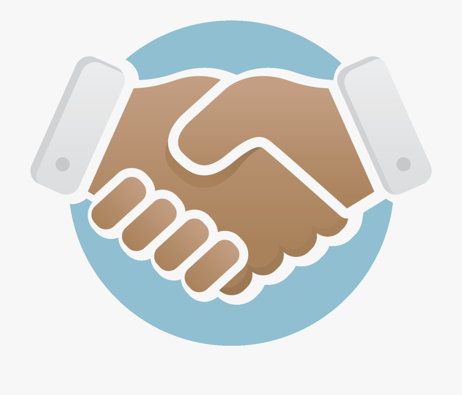Handshake clipart vector. Logo png contract icon