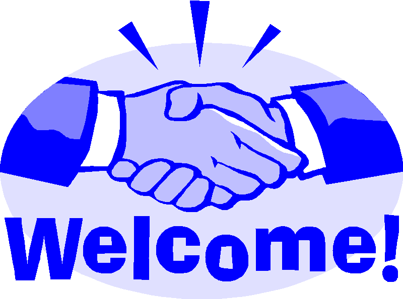 Portal . Handshake clipart welcome