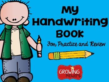 Handwriting clipart handwriting book. My by growing kinders