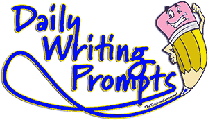 Writer clipart daily report. Writing prompts september