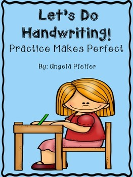 Handwriting clipart lets practice. Let s do makes