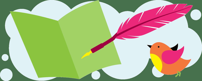 Benefits of writing thank. Handwriting clipart news writer