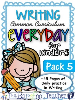 Handwriting clipart opinion writing. Practice pack