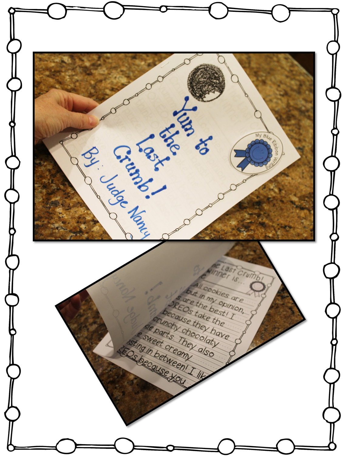 Welcome and first grade. Handwriting clipart opinion writing