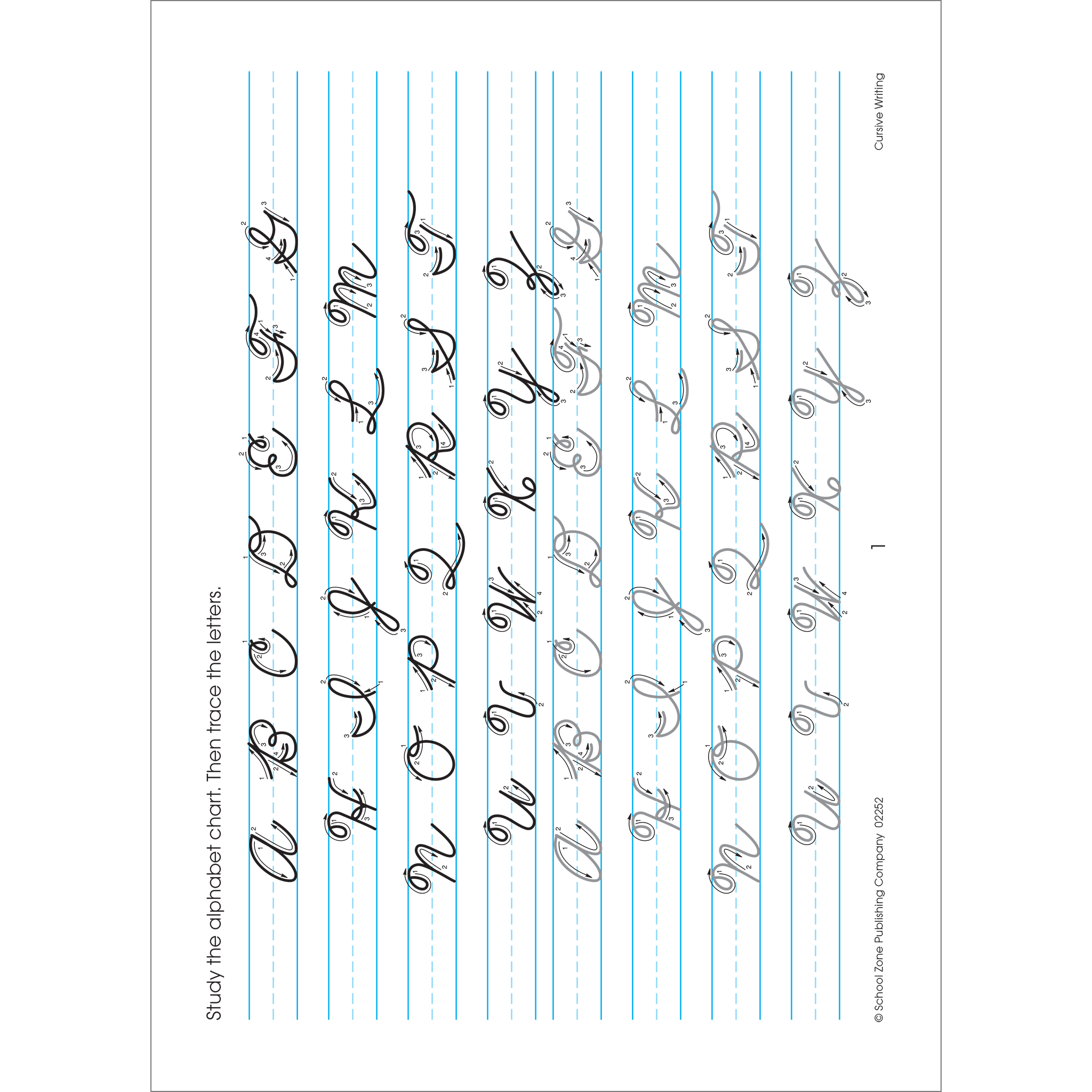 Cursive deluxe edition workbook. Handwriting clipart writing material