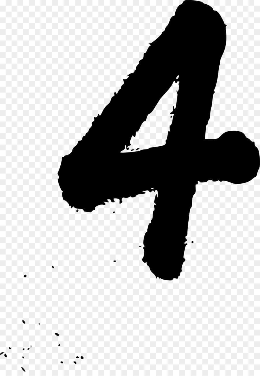 Cartoon number font hand. Handwriting clipart writing material