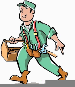 Free images at clker. Handyman clipart