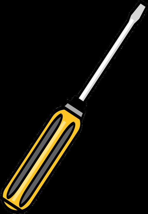Toolbox tools red kit. Handyman clipart hammer screwdriver