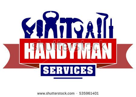 Handyman clipart hammer screwdriver. Services vector design for