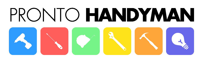 Services pronto logo. Handyman clipart home improvement